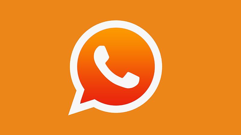 Whatsapp-Orange